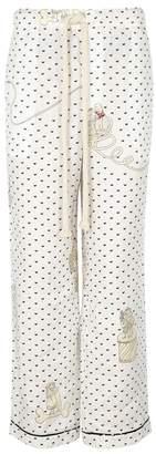 Loewe X Paula's Ibiza Printed Linen Trousers