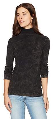 Three Dots Women's Heritage Knit Rocker Tight Long Shirt