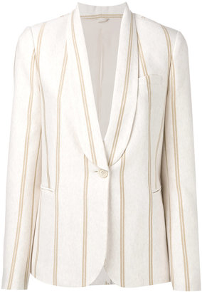 Brunello Cucinelli striped blazer $2,995 thestylecure.com