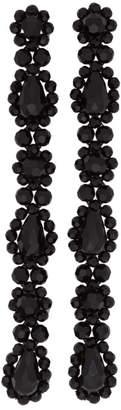 Simone Rocha Black Multi Drop Earrings