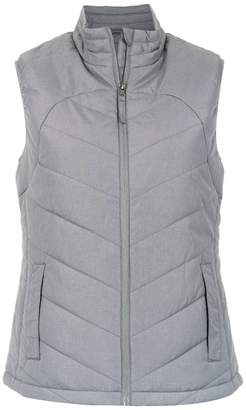 Track & Field quilted gilet