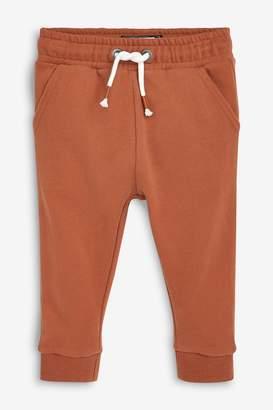 Next Boys Rust Soft Touch Joggers (3mths-7yrs) - Orange