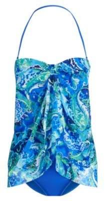 Ralph Lauren Paisley One-Piece Swimsuit Blue Multi 8