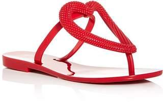 Melissa Women's Big Heart Flip-Flops