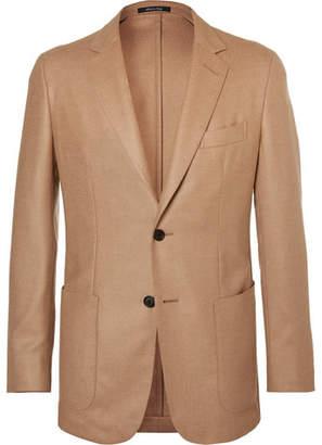 Dunhill Camel Hair, Wool And Silk-Blend Blazer
