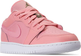 Nike Girls' Grade School Air Jordan 1 Low (3.5y - 9.5y) Casual Shoes