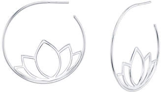 Unwritten Novelty Lotus Flower Hoop