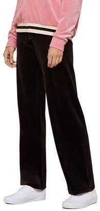 Juicy Couture Black Label Del Rey Luxe Velour Sweatpants