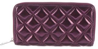 Marc JacobsMarc Jacobs Metallic Quilted Wallet