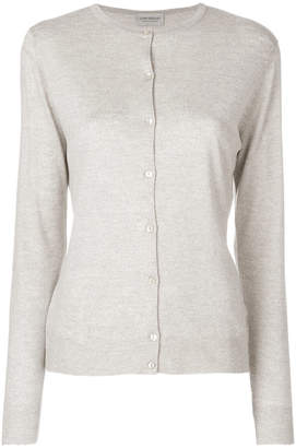 John Smedley button-down fitted cardigan