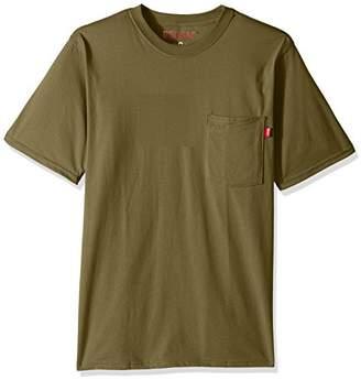 Red Kap Men's Solid Color T-Shirt