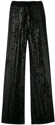 P.A.R.O.S.H. Ginter sequin wide leg trousers