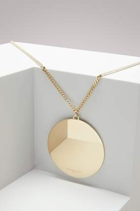 Givenchy Geometric round necklace