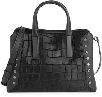 DKNY Ewen Studded Leather Satchel