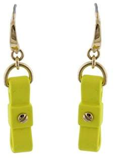 Marc by Marc Jacobs Upright Bow Tie Drop Earrings