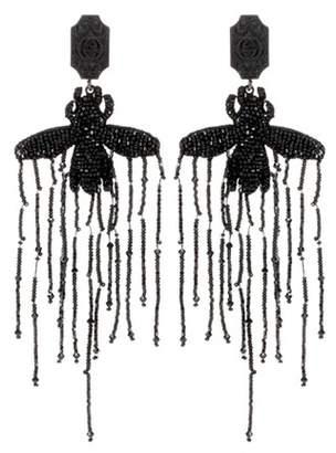Gucci Beaded clip-on earrings