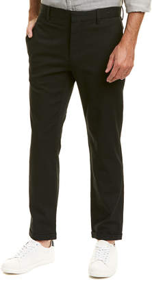 Vince Cropped Wool-Blend Trouser