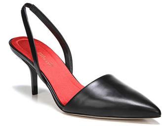 Diane von Furstenberg Mortelle Slingback Leather Pump, Black