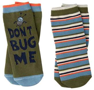 Gymboree Bug & Stripe Socks