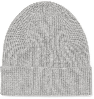 Isabel Marant - Chilton Ribbed Cashmere Beanie - Gray $180 thestylecure.com