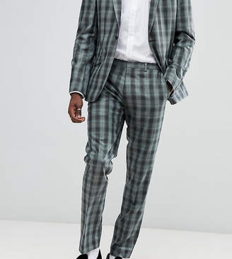 Heart & Dagger slim suit pants in check
