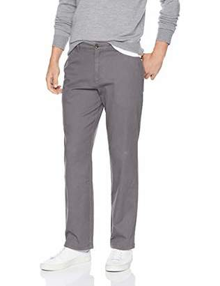 Amazon Essentials Men's Standard Relaxed-Fit Casual Stretch Khaki
