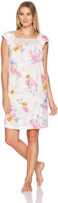 Carole Hochman Women's Short Sleeve Sleepshirt