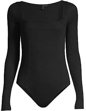 ATM Anthony Thomas Melillo Women's Long Sleeve Bodysuit
