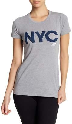 New Balance Short Sleeve NYC Tee