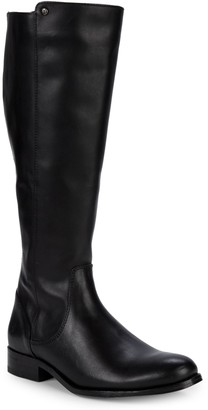 Frye Melissa Leather Knee-High Riding Boots