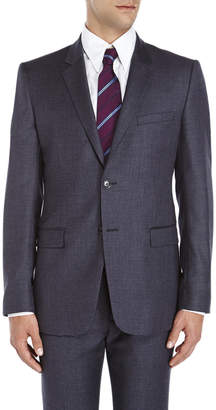 American Designer Charcoal Two-Button Slim Fit Wool Suit Jacket