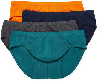 STAFFORD Stafford 4-pk. Cotton Stretch Bikini Briefs $20 thestylecure.com