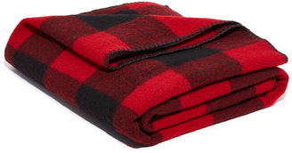 Woolrich Buffalo Check Blanket $95 thestylecure.com