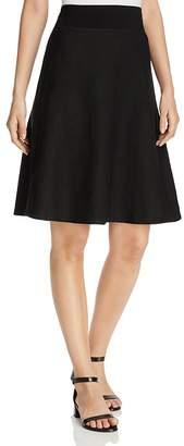 Three Dots Linen A-Line Skirt $88 thestylecure.com