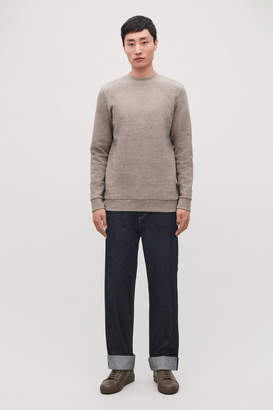 Cos RELAXED LEG JEANS WITH TURN-UPS