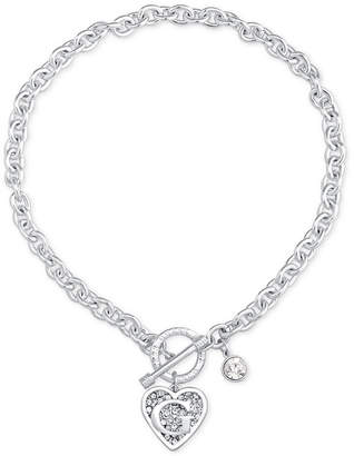 GUESS Logo Link Pendant Necklace