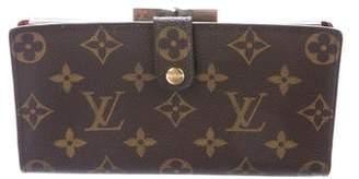Louis Vuitton Vintage Monogram Long French Purse Wallet