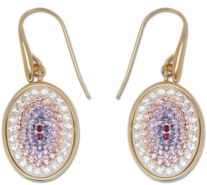 Swarovski Earrings, Nila Amethyst Crystal Earrings