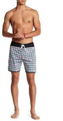 Ezekiel Flamingo 18 Board Shorts