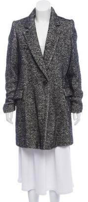 Etoile Isabel Marant Structured Wool-Blend Coat
