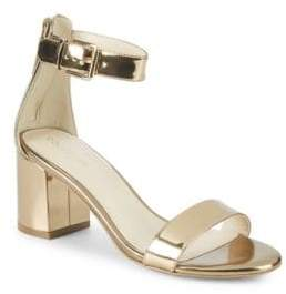 Cole Haan Clarette Metallic Leather Sandals