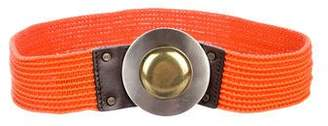 Diane von Furstenberg Woven Waist Belt