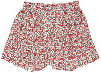 Have A Good Time Druthers Red and White Boxers
