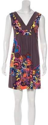 Tibi Printed Shift Dress