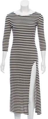 Solid & Striped Striped Midi Dress