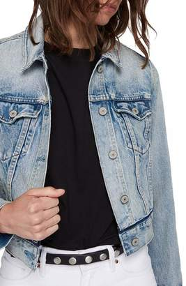 AllSaints Hay Crop Denim Jacket