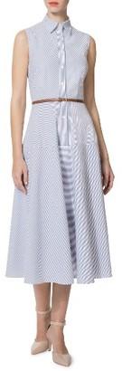 Women's Donna Morgan Midi Shirtdress $118 thestylecure.com