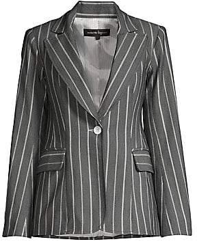 Nanette Lepore Women's Denim Stripe Jacket
