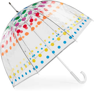 totes Polka Dot Bubble Umbrella