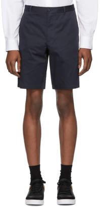 Burberry Navy Icon Stripe Shibden Shorts
